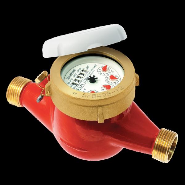 Multi Jet warm watermeter